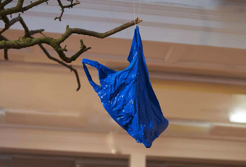 Hilary-Jack-Turquoise-Bag-in-a-Tree-at-Bury-Sculpture-Centre-2